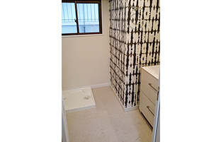 内装リフォームマンション洗面室イメージ