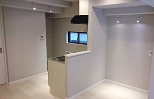 内装リフォームマンションキッチンイメージ