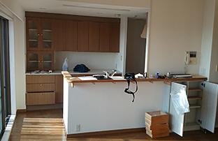 リノベーションマンションキッチンイメージ