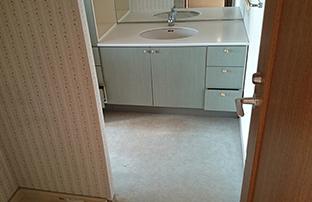 リノベーションマンション洗面室イメージ